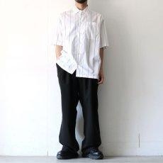 画像2: yoshio kubo GROUNDFLOOR / S/Sストライプシャツ (2)