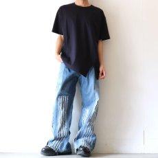 画像2: UNDECORATED / スリットTシャツ (2)