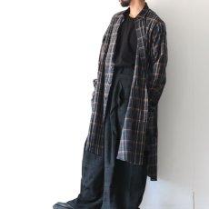 画像10: SISE / ロングチェックシャツ (10)