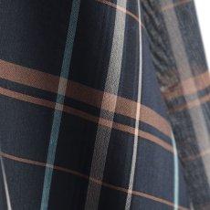 画像16: SISE / ロングチェックシャツ (16)