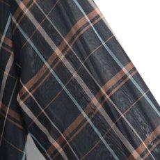 画像15: SISE / ロングチェックシャツ (15)