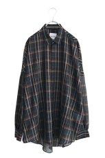 画像1: SISE / バルーンチェックシャツ (1)