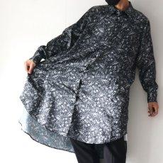 画像5: SISE / ロングペイズリーシャツ (5)