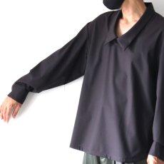 画像13: ETHOSENS / ドロップネックシャツ (13)