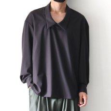 画像14: ETHOSENS / ドロップネックシャツ (14)