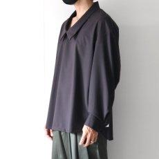 画像9: ETHOSENS / ドロップネックシャツ (9)