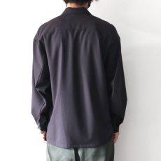 画像11: ETHOSENS / ドロップネックシャツ (11)