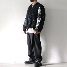 画像4: yoshio kubo GROUNDFLOOR / タイダイボンバージャケット (4)