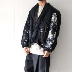 画像8: yoshio kubo GROUNDFLOOR / タイダイボンバージャケット (8)