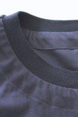 画像10: ETHOSENS / フロントベント半袖プルオーバー (10)