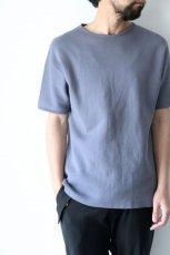 画像8: ETHOSENS / ミラノリブニットTシャツ (8)