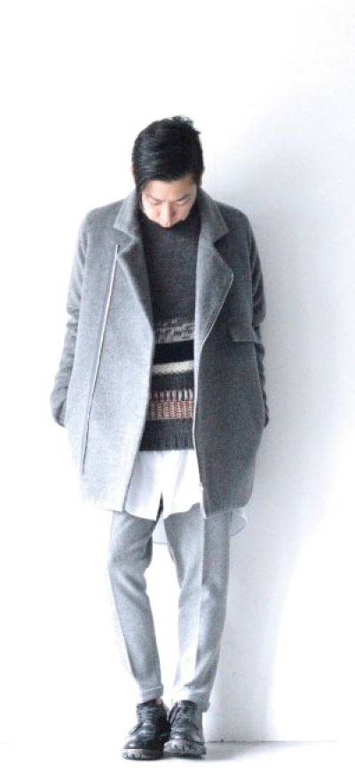 画像2: N°21 / ボーダーニットセーター