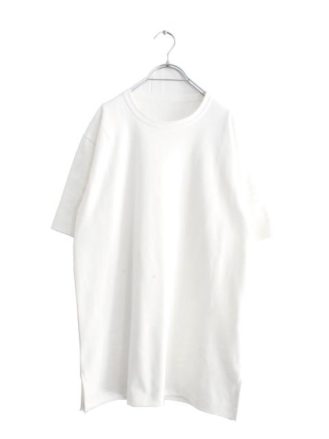 画像1: ALuvous / スリットリラックスTシャツ (1)