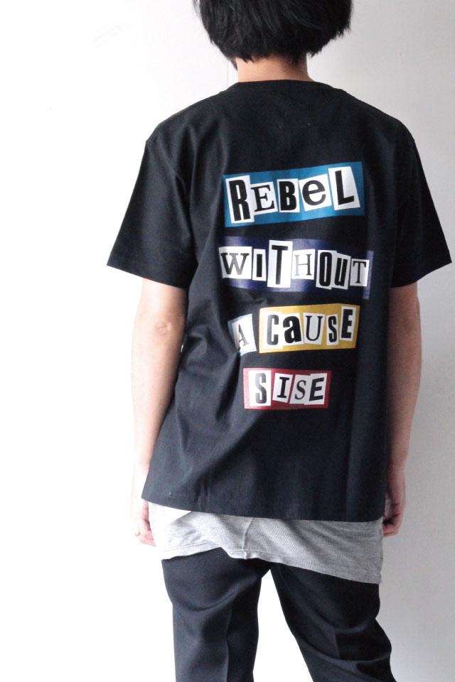 画像1: S I S E / バックプリントTシャツ (1)