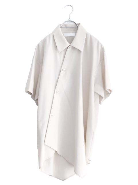 画像1: ETHOSENS / アシンメトリーシャツ (1)