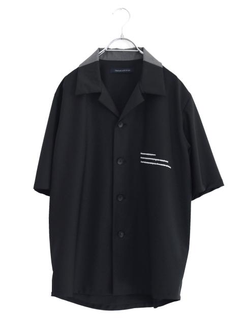 画像1: liberum arbitrium / UNWRITTENオープンカラーシャツ (1)