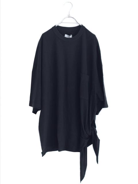 画像1: UNDECORATEDMAN / リボンTシャツ[オーガニックコットン] (1)