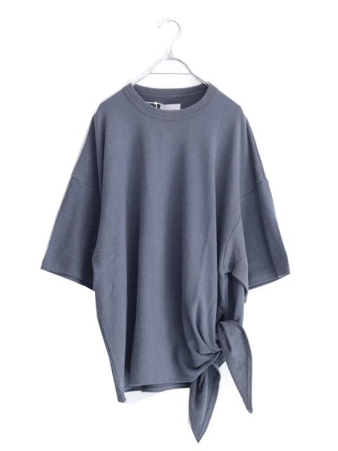 画像1: UNDECORATEDMAN / シルクネップリボンTシャツ (1)