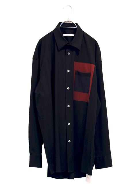 画像1: LIBERUM / スクエアポケットシャツ (1)