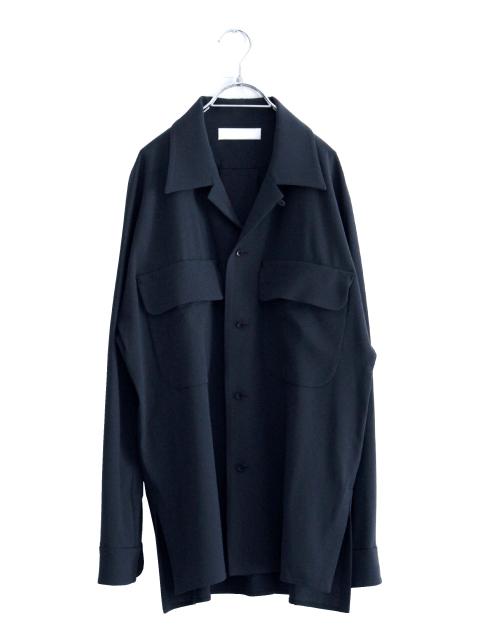 画像1: ETHOSENS / ビッグポケットシャツ (1)