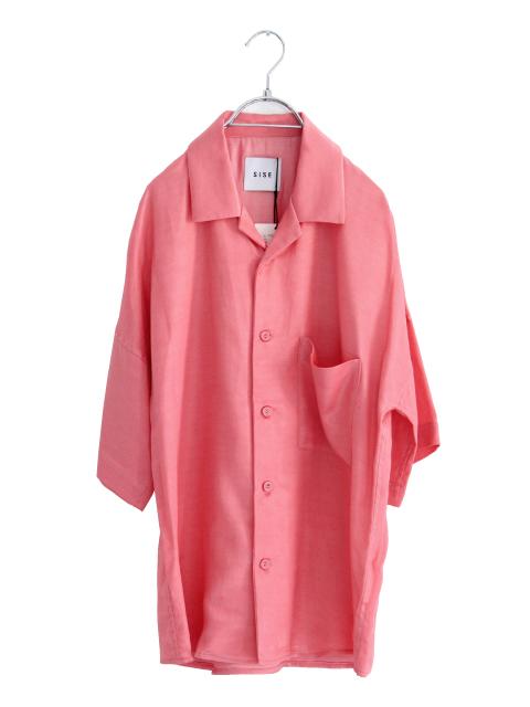 画像1: S I S E / オープンカラーシャツ (1)