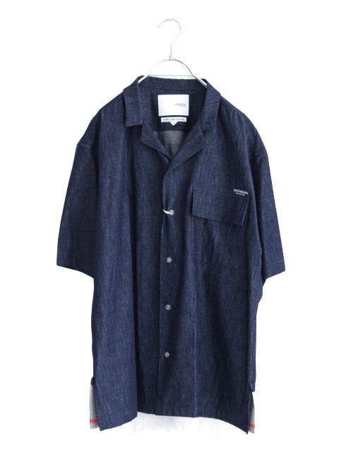 画像1: yoshio kubo GROUNDFLOOR / 半袖デニムシャツ (1)