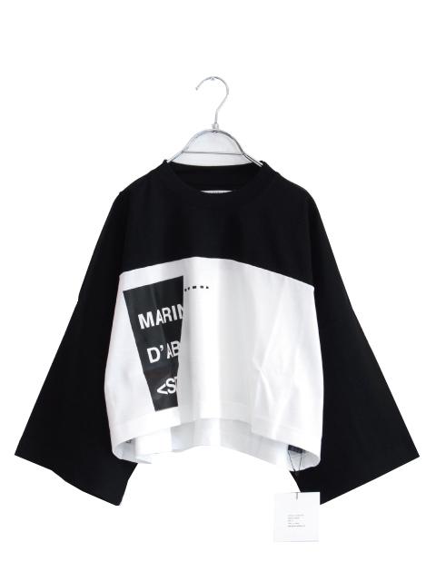 画像1: LIBERUM / オーバーショートTシャツ (1)