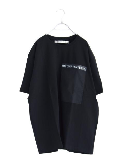 画像1: soe /レタージップTシャツ (1)