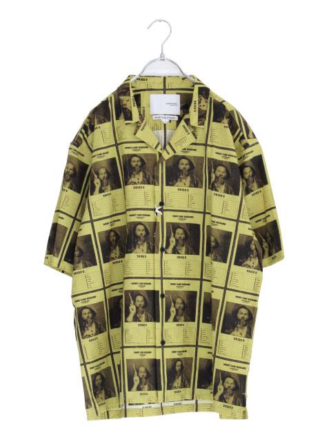 画像1: yoshio kubo GROUNDFLOOR / WANTEDアロハシャツ (1)