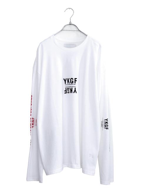 画像1: yoshio kubo GROUNDFLOOR / プリントロングTシャツ (1)