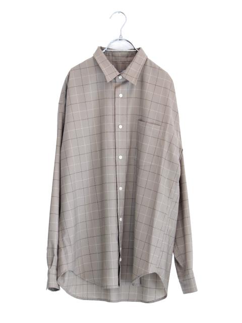 画像1: UNDECORATED / チェックシャツ (1)