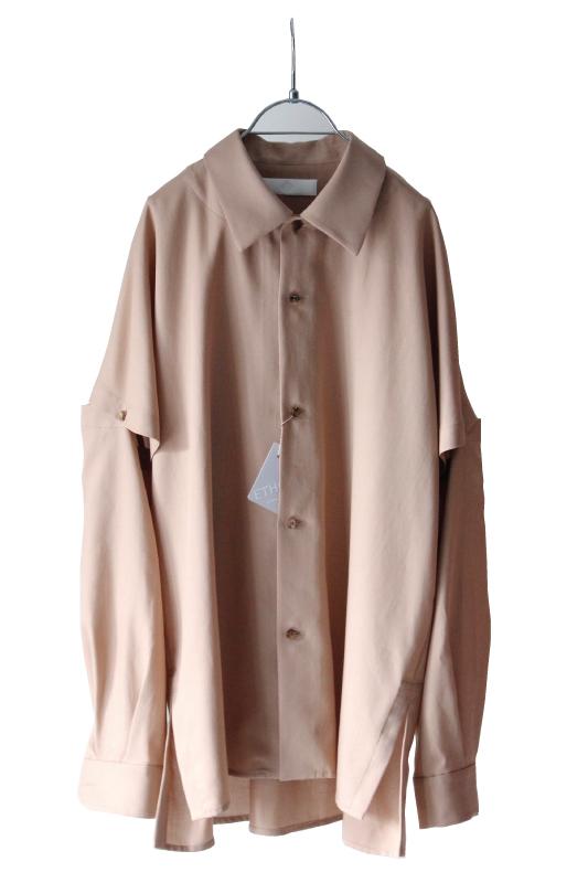 画像1: ETHOSENS / ボタンアップスリーブシャツ (1)