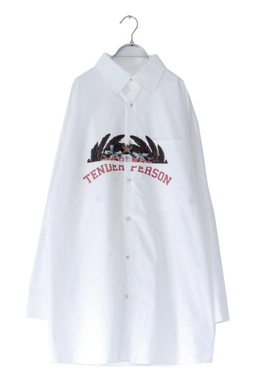 画像1: TENDER PERSON / オーバーサイズシャツ (1)
