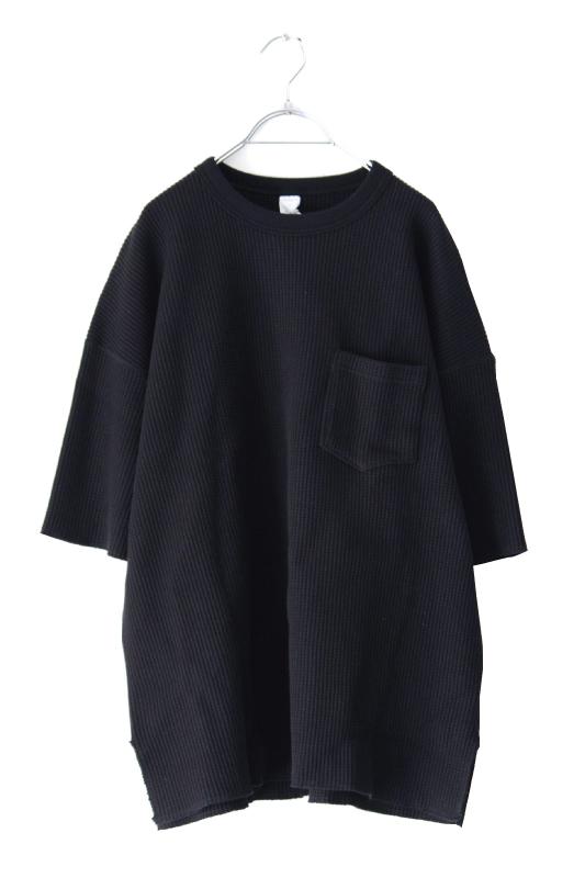 画像1: UNDECORATED / ビッグワッフルTシャツ (1)
