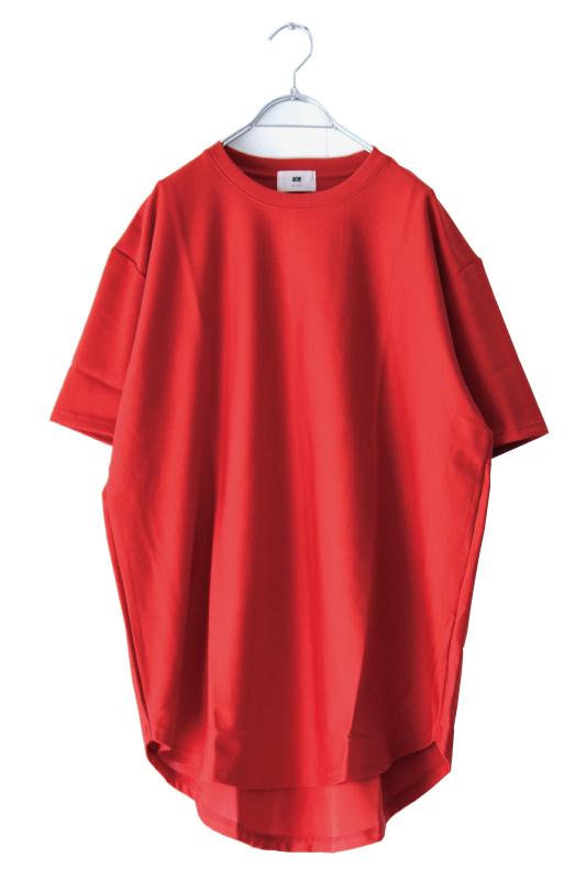 画像1: soe / ラウンドヘムTシャツ (1)