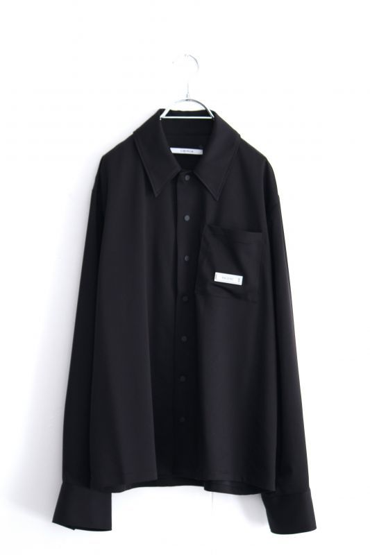 画像1: LIBERUM / シリコンプレートキュプラシャツ (1)