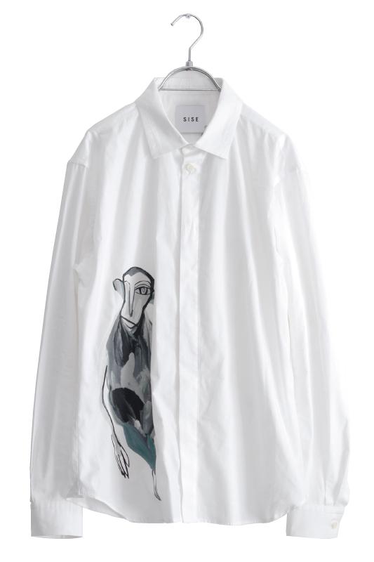 画像1: SISE / モンキーベーシックシャツ (1)