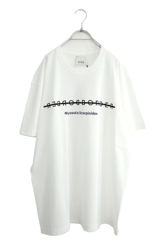 画像1: SISE / エンブロイダリーTシャツ (1)
