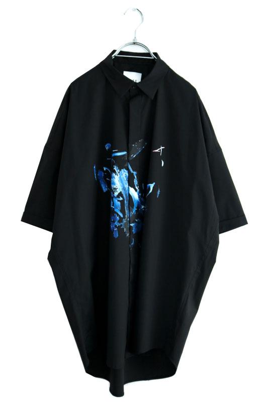 画像1: SISE / プリントH/Sシャツ (1)