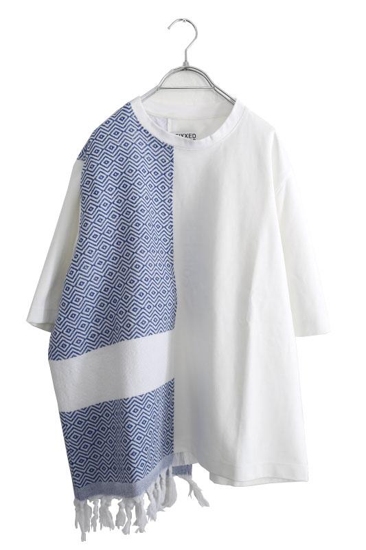 画像1: FFIXXED STUDIOS / タオルパネルTシャツ (1)