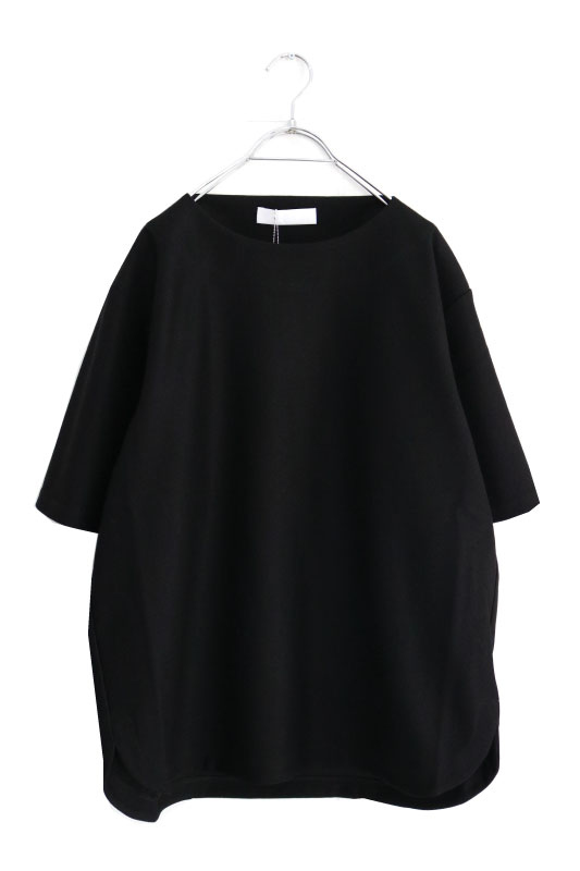 画像1: ETHOSENS / ボートネックTシャツ (1)