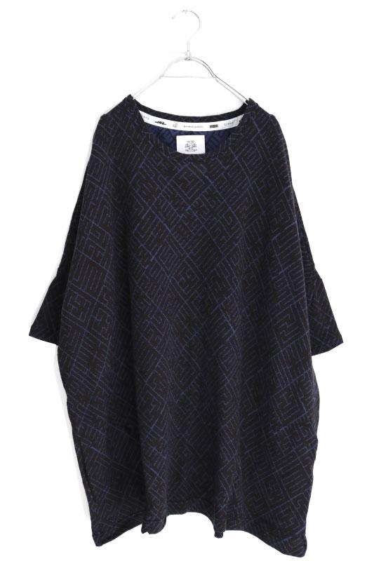 画像1: STOF / ジャカードTシャツ (1)