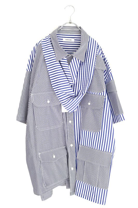 画像1: BODYSONG. / オーバーサイズシャツ (1)