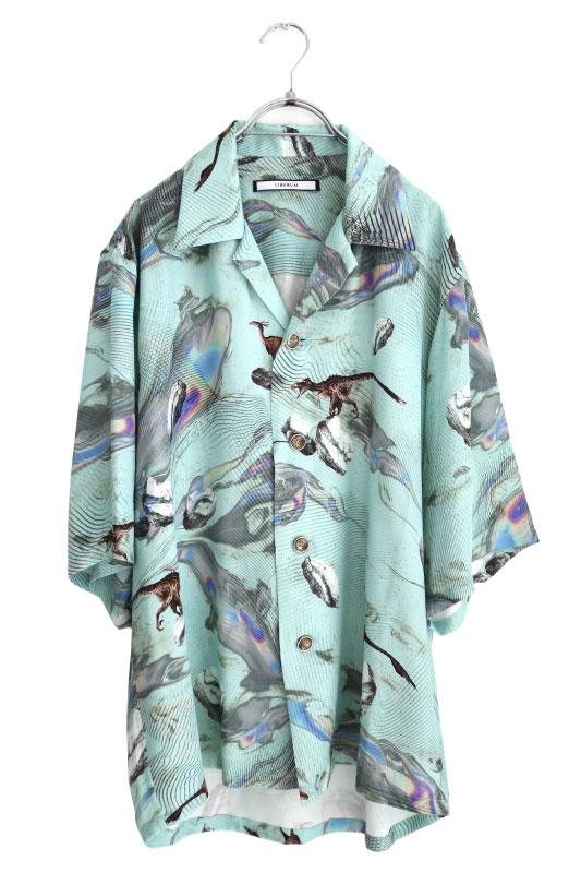 画像1: LIBERUM / DINOプリントシャツ (1)