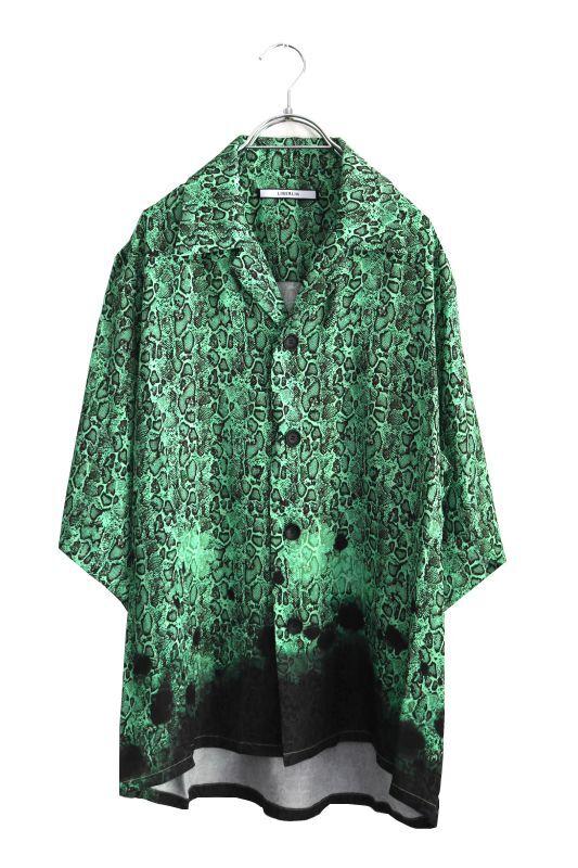 画像1: LIBERUM / グラデーションパイソンシャツ (1)