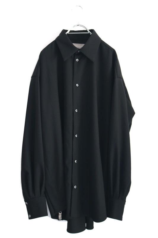 画像1: Licht Bestreben / サイドジップシャツ (1)